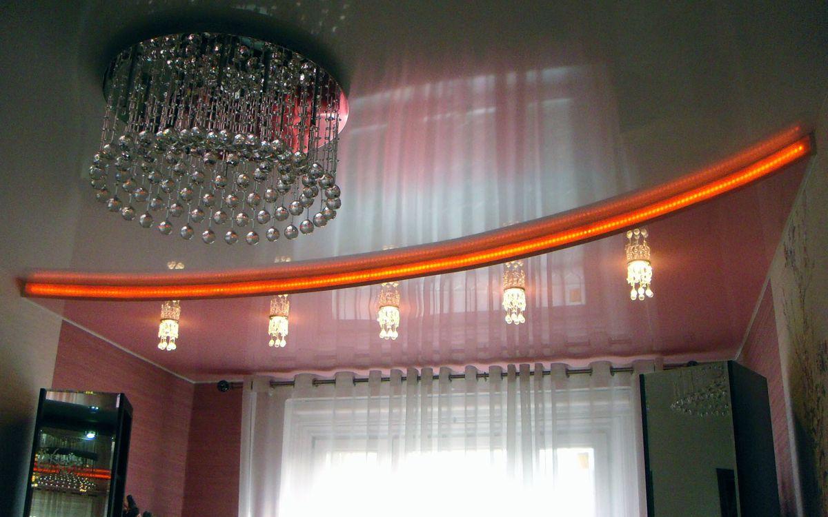 Глянцевые потолки